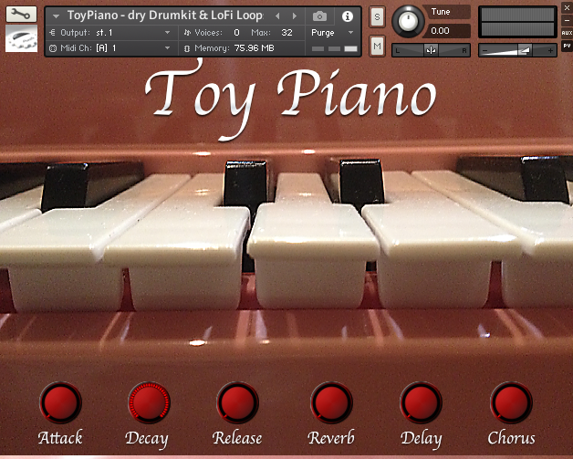 Particular Sound Toy Piano v1.1 KONTAKT